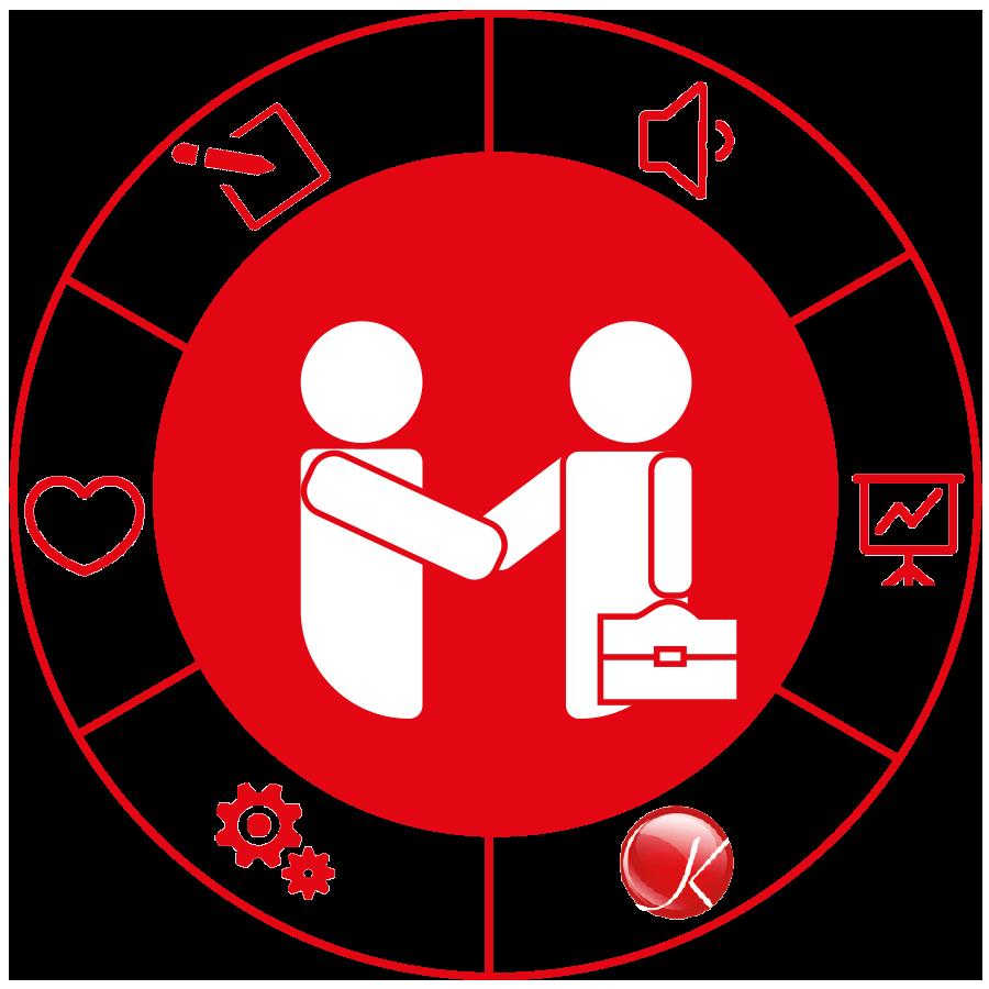 Das KMG Prinzip: Günstige Einkaufskonditionen und Unterstützung in allen Fragen des täglichen Geschäfts in der Küchenbranche. Ohne laufende Mitgliedsbeiträge!
